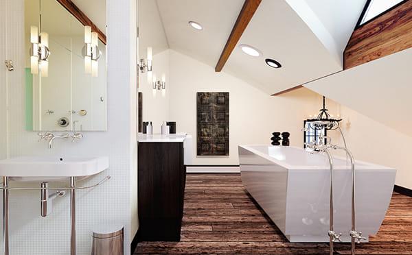 הדמיות של חדרי אמבטיה ומקלחות