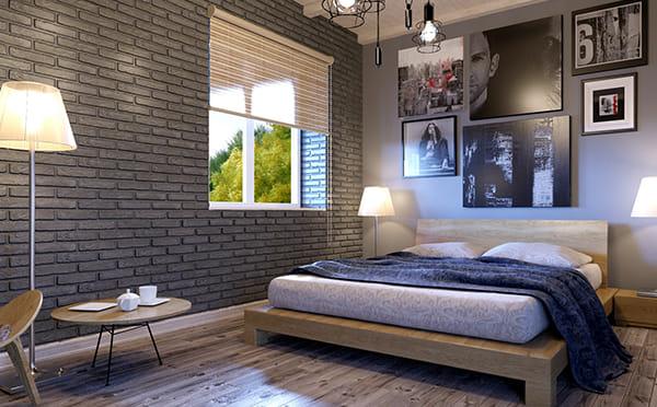 הדמיה אדריכלית לחדרי שינה