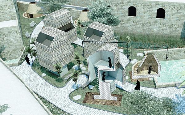 הדמיה אדריכלית לפרויקט גמר
