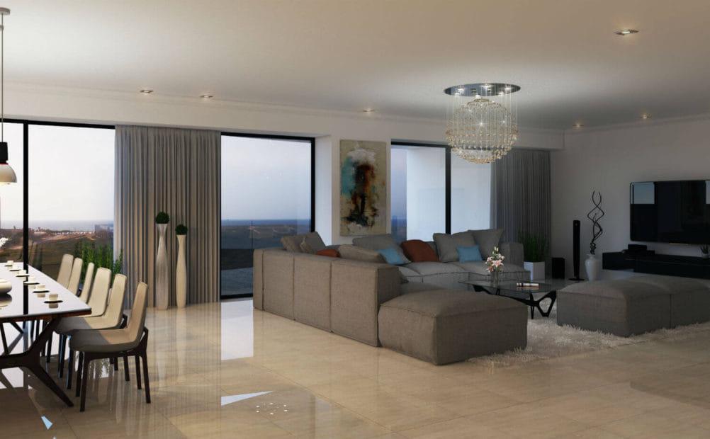 הדמיה של עיצוב הבית