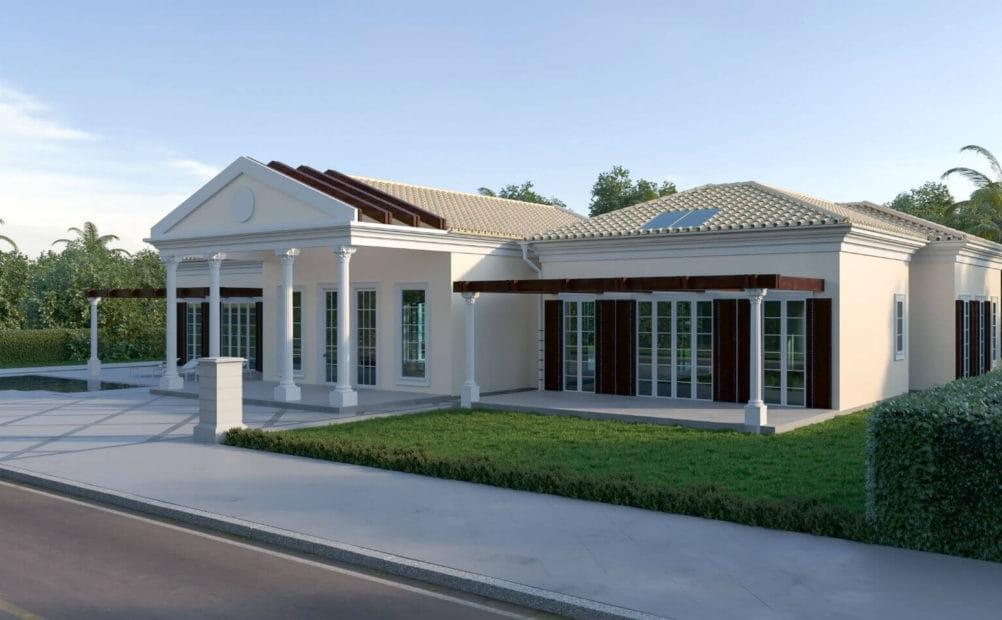 הפקת הדמיות אדריכליות לבתים פרטיים