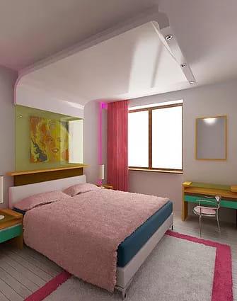הדמיות אדריכליות של חדרי ילדים, נוער ותיקונות