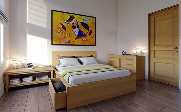הדמיות של דירה לדוגמא בפרויקט מגורים להשכרה באנגליה