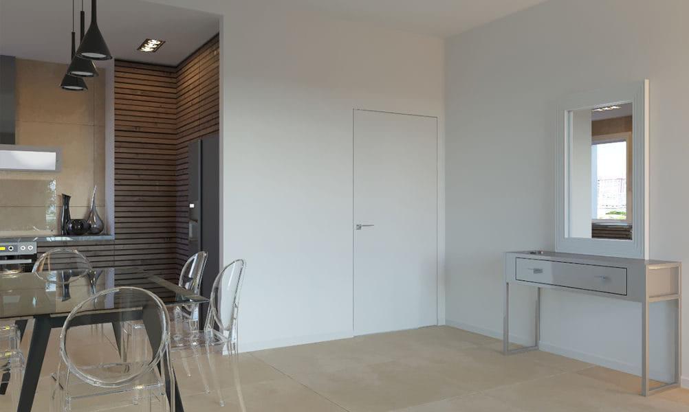 הדמיות פנים לדירה בעיצוב מודרני, פרויקט גינדי ברמלה