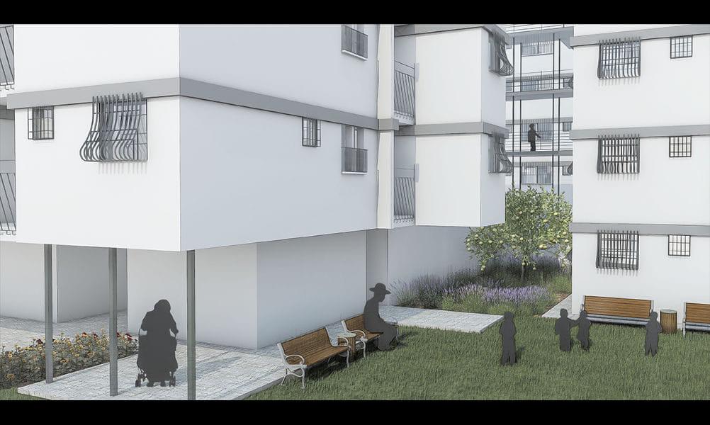 הדמיות לפרויקט גמר באדריכלות 1