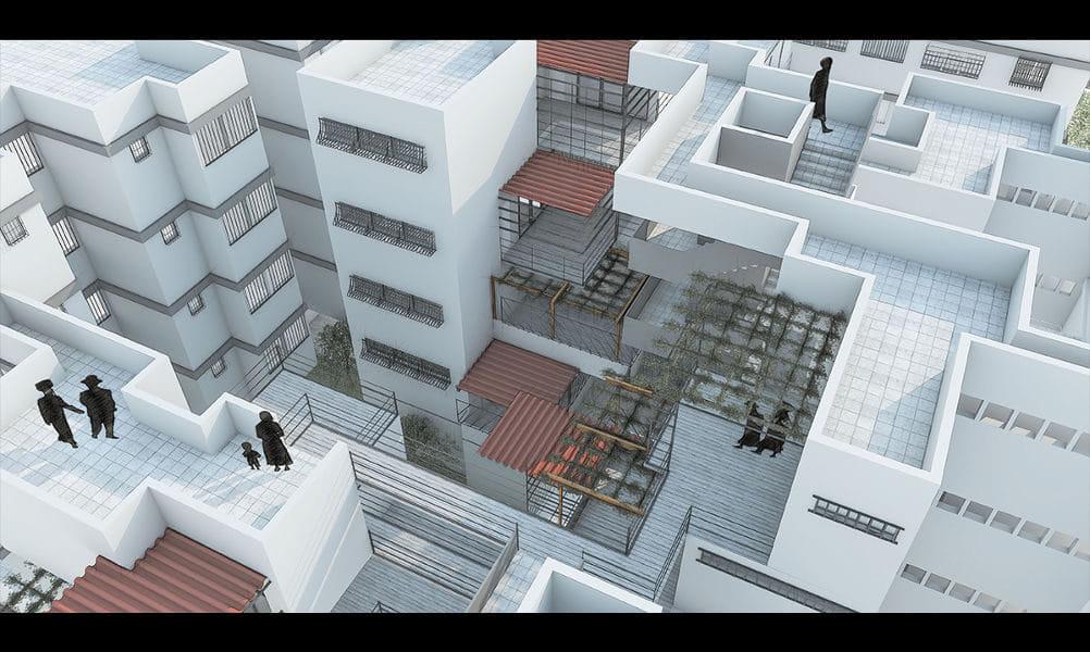 הדמיות לפרויקט גמר באדריכלות 2