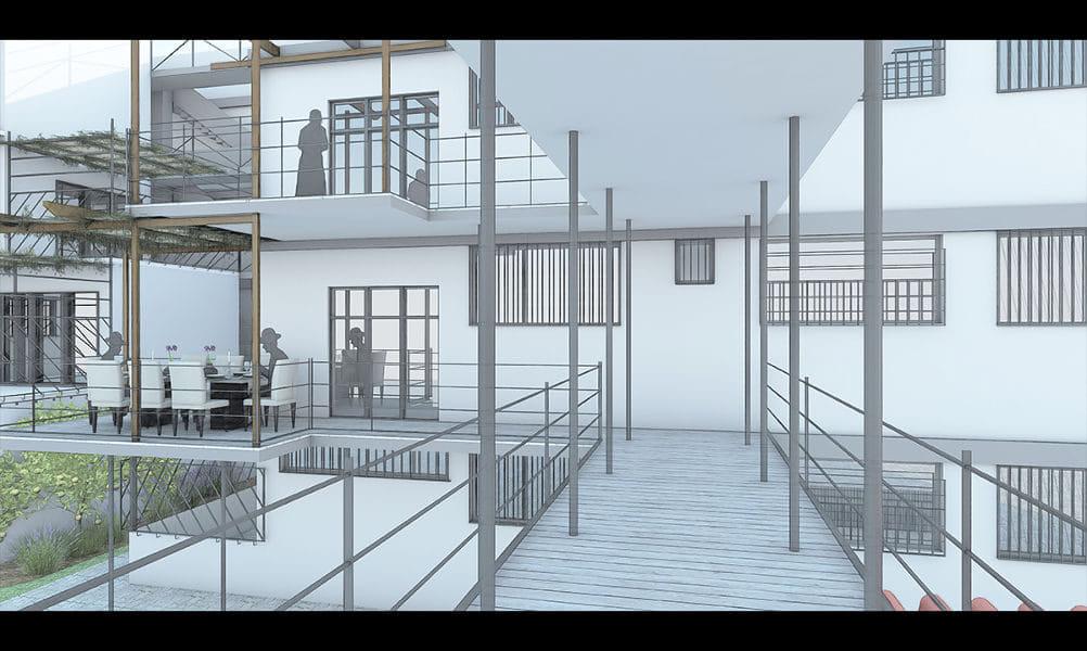 הדמיות לפרויקט גמר באדריכלות 3