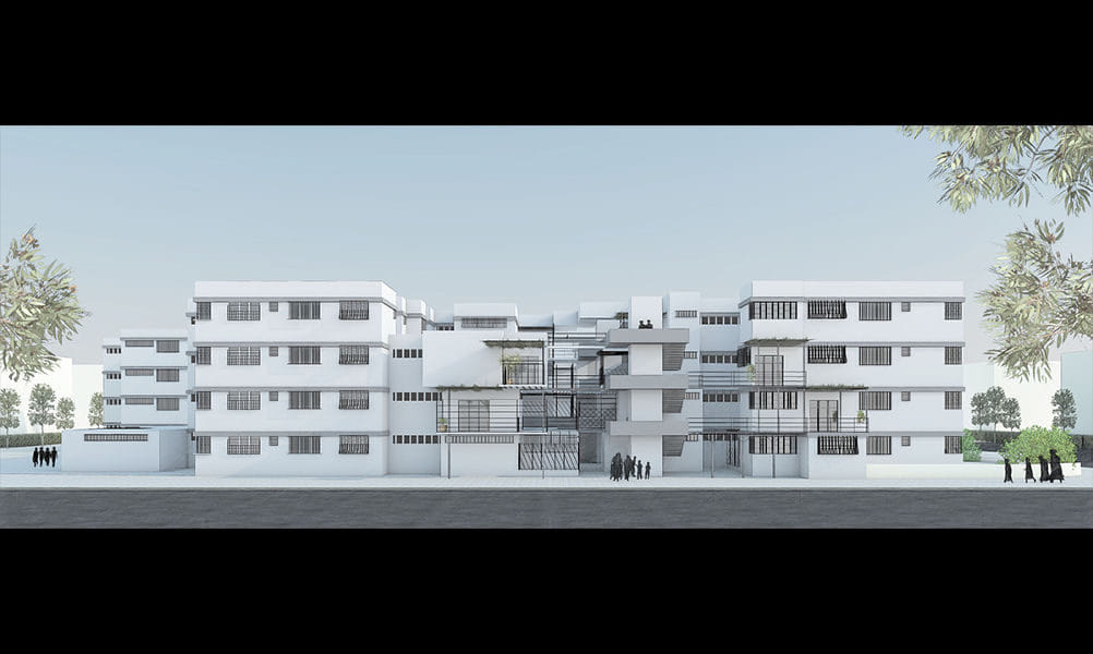 הדמיות לפרויקט גמר באדריכלות 4