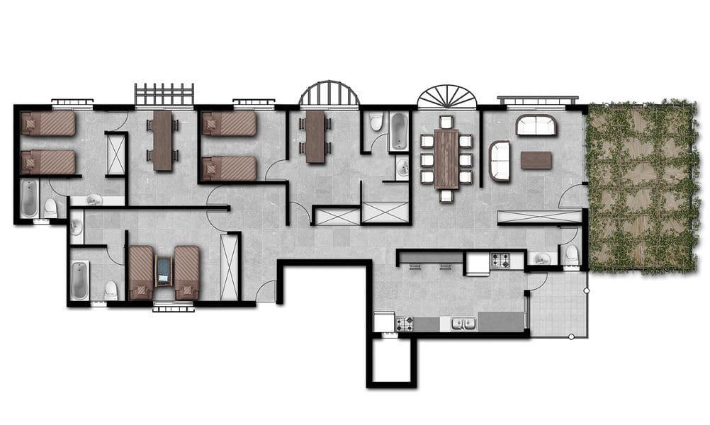 הדמיות לפרויקט גמר באדריכלות 8