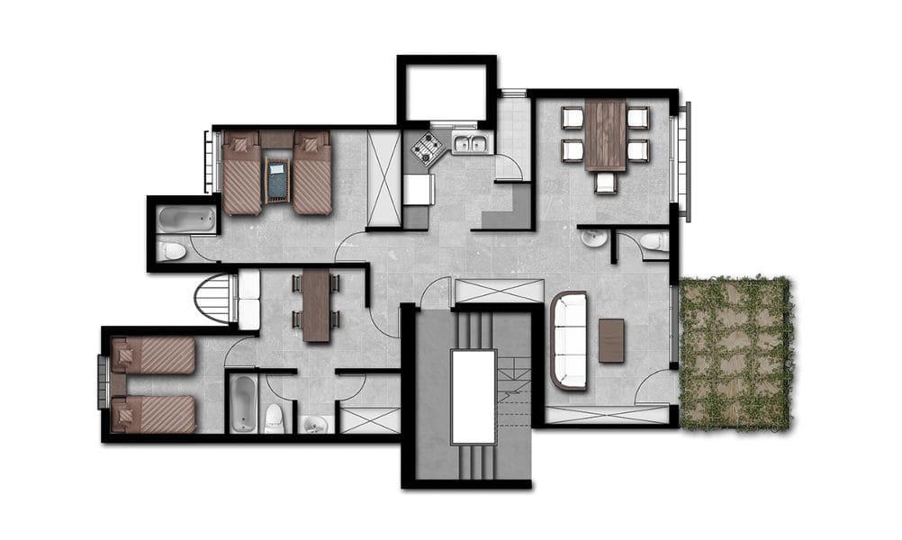 הדמיות לפרויקט גמר באדריכלות 10