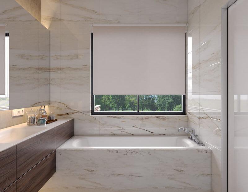 הדמיה לחדר אמבט